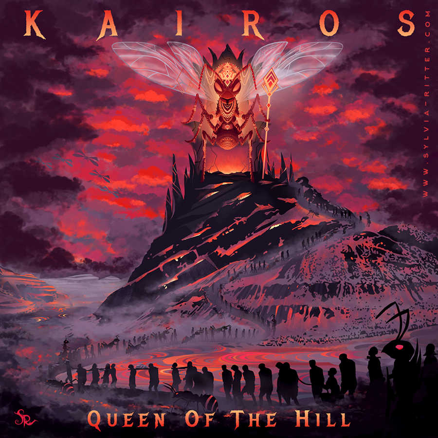 "Album Art ""Queen of the Hill"" for Kairos"