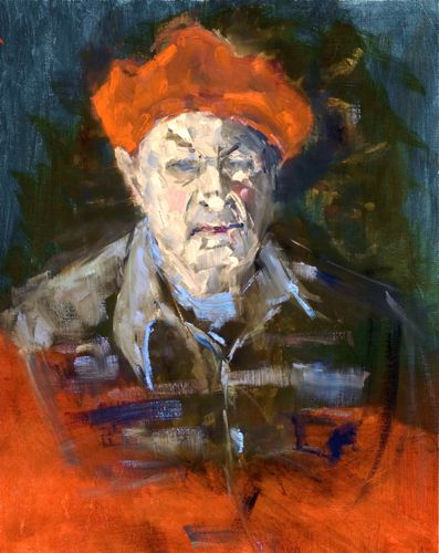 BROWNIE IN A RED BERET:OPA.jpg