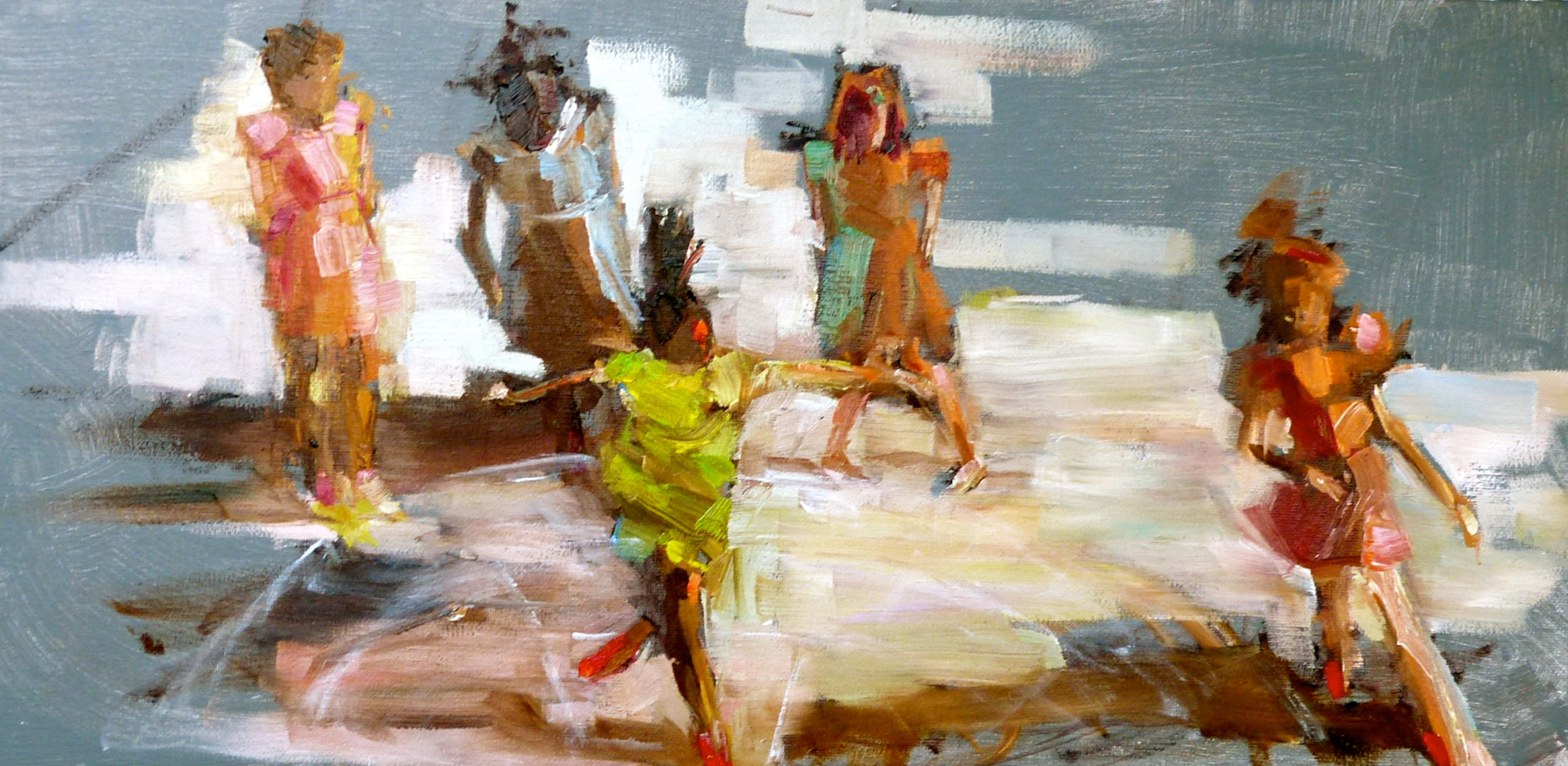 Liliana Paradiso  #1 Summer in NYC Oil 16 x 20.jpg