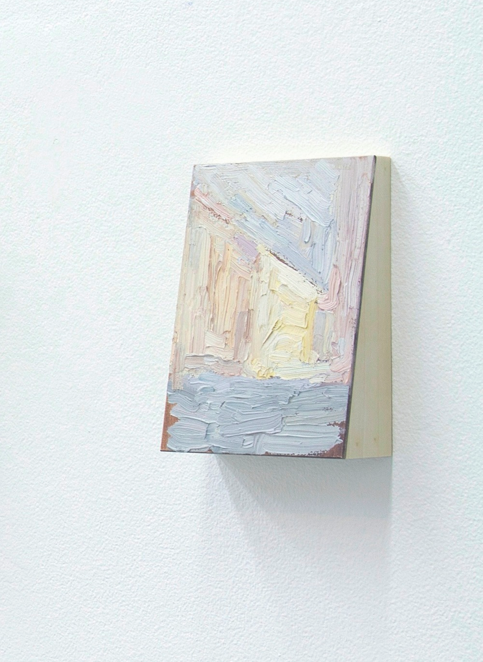 Untitled  2014  Oil and wood  7 x 2 x 5 inches