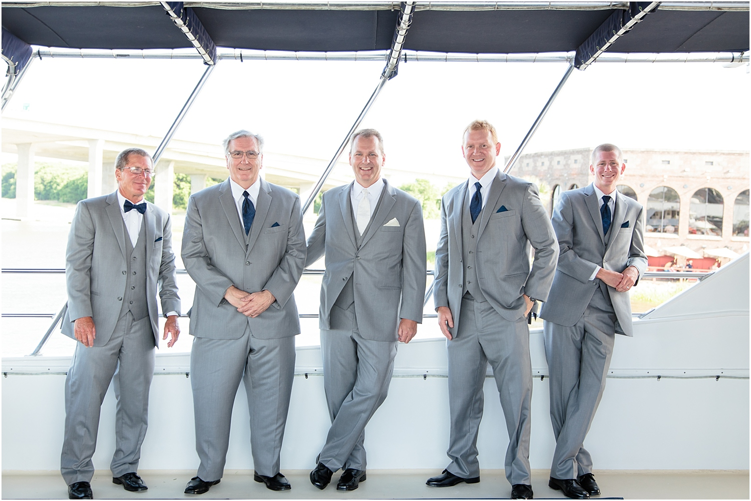 Bridal Party,ashley river,charleston,wedding,