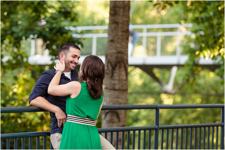 downtown greenville,engaged,engagement photos,falls park,falls park engagement,fiancé,