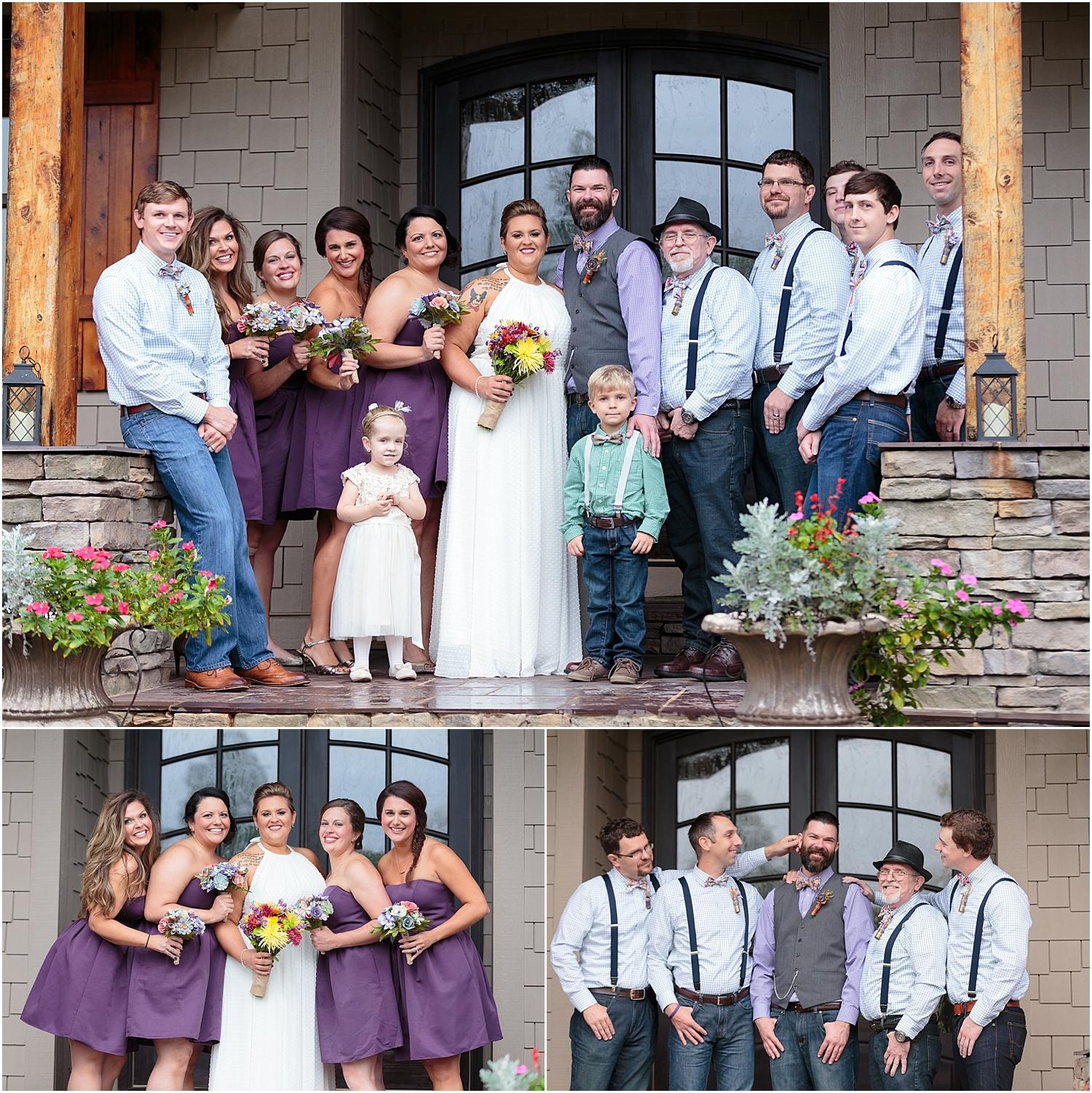 Bridal Party,bride,greenville wedding,groom,mountain wedding,outdoor wedding,paris mountain wedding,wedding,wedding photography,