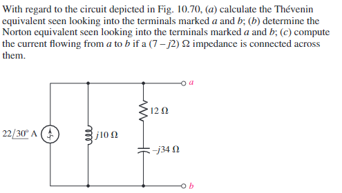 Thevenin and Norton Circuits for Independent Sources — Penji