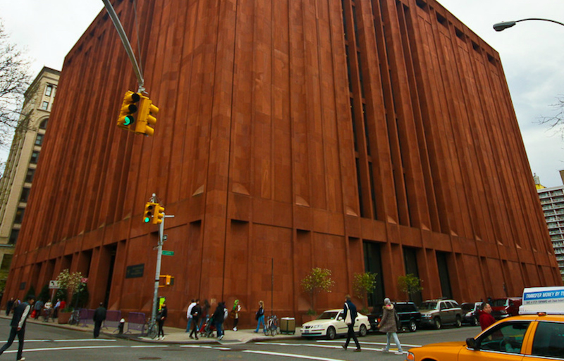 Bobst Library -