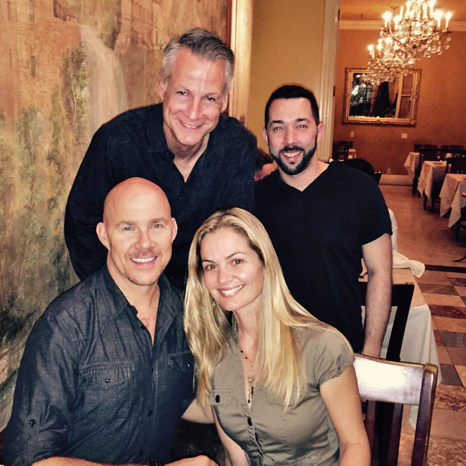 Todd with Carrie Schroeder, Michael Nicklin and Steven Le Vine