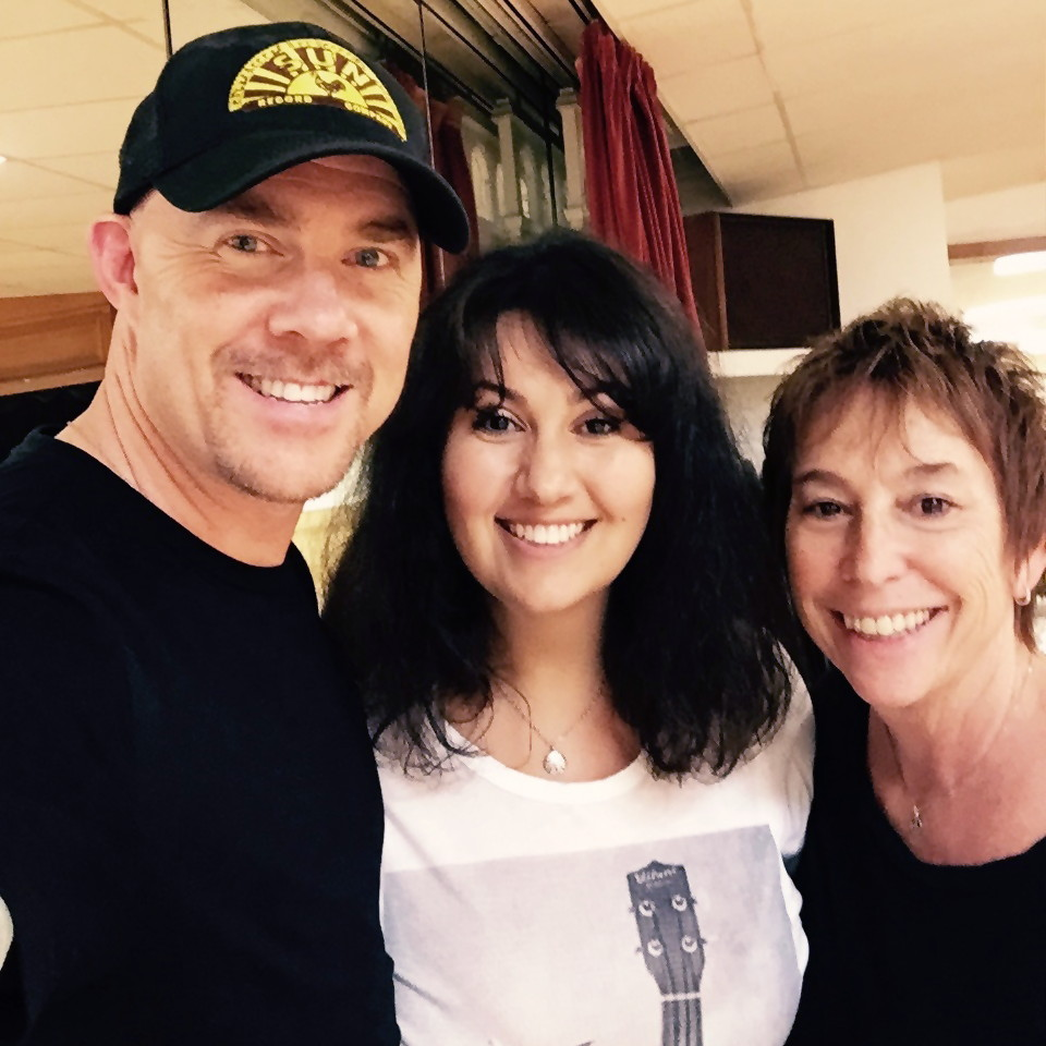 Todd with Angela Sidlow and Suzi Dietz
