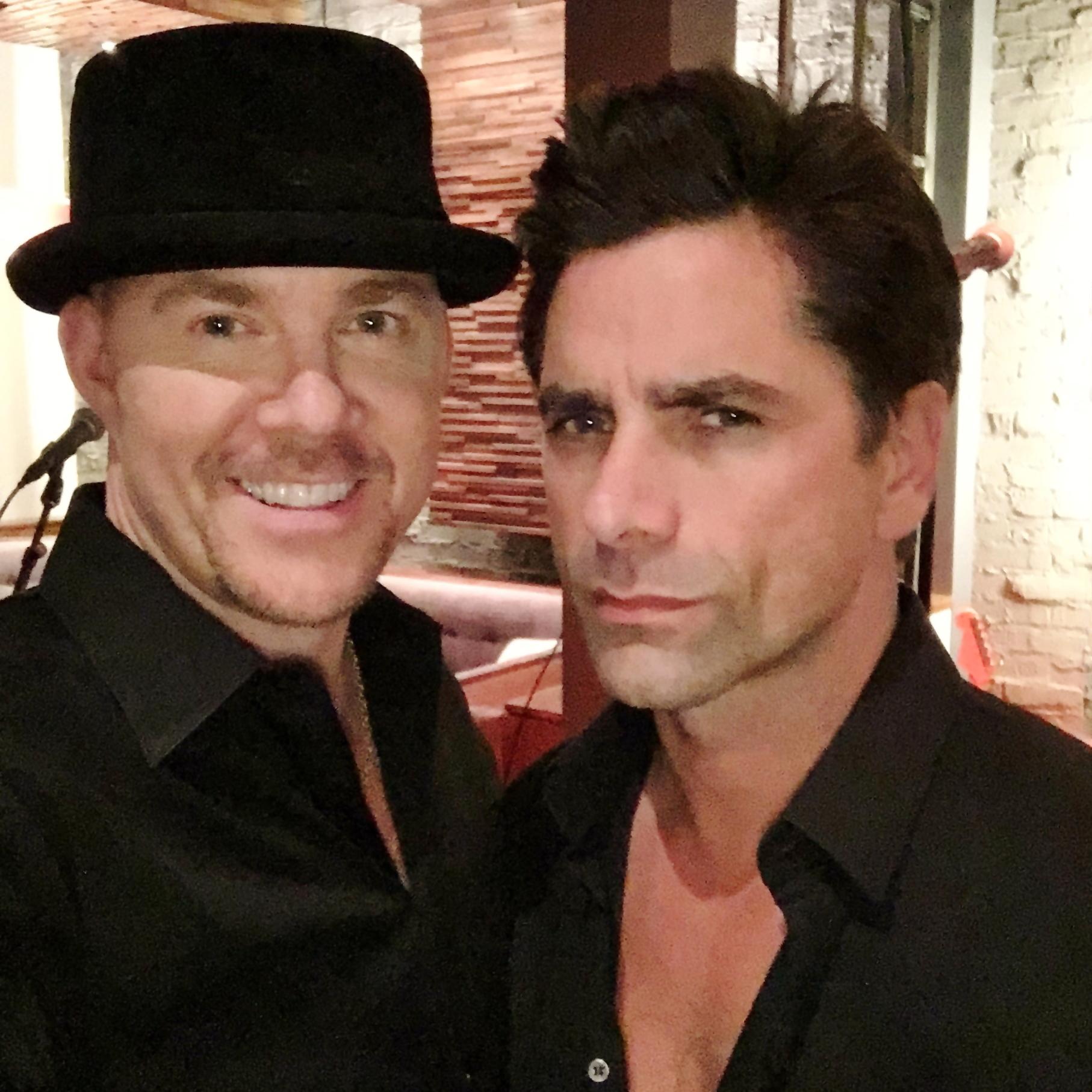 Todd with John Stamos