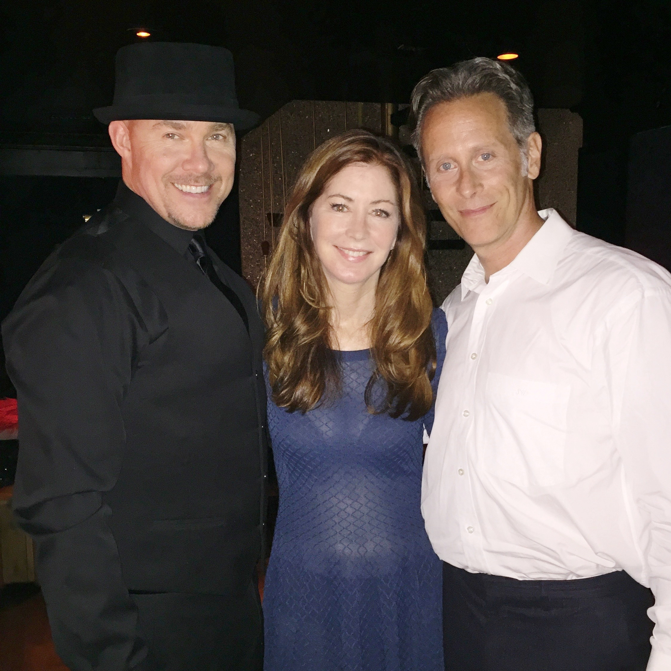 Todd with Dana Delaney and Steven Weber