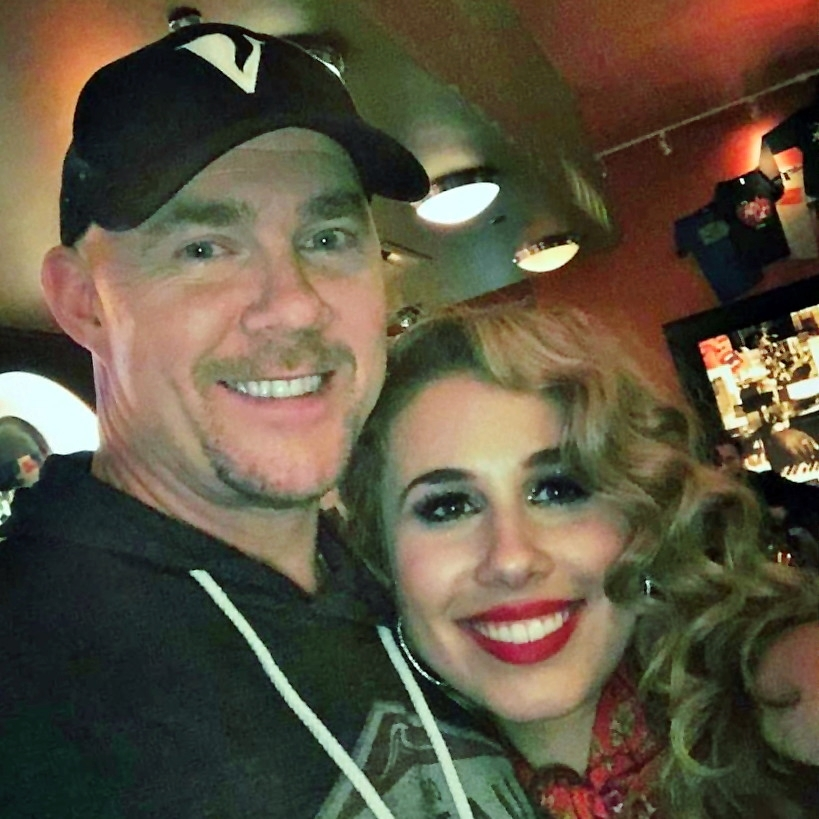 Todd with Haley Reinhart