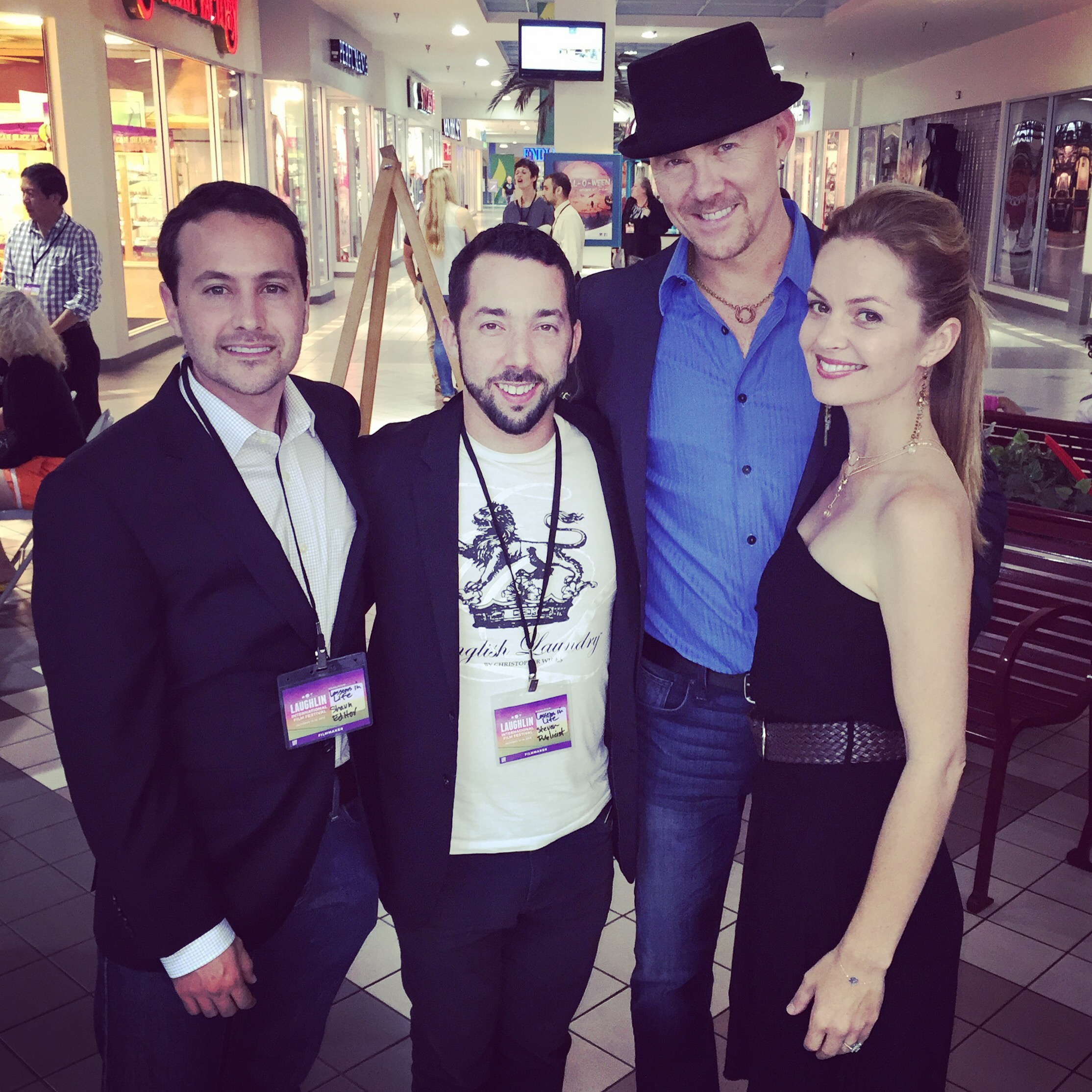 Todd with Shaun Wood, Steven LeVine and Carrie Schroeder