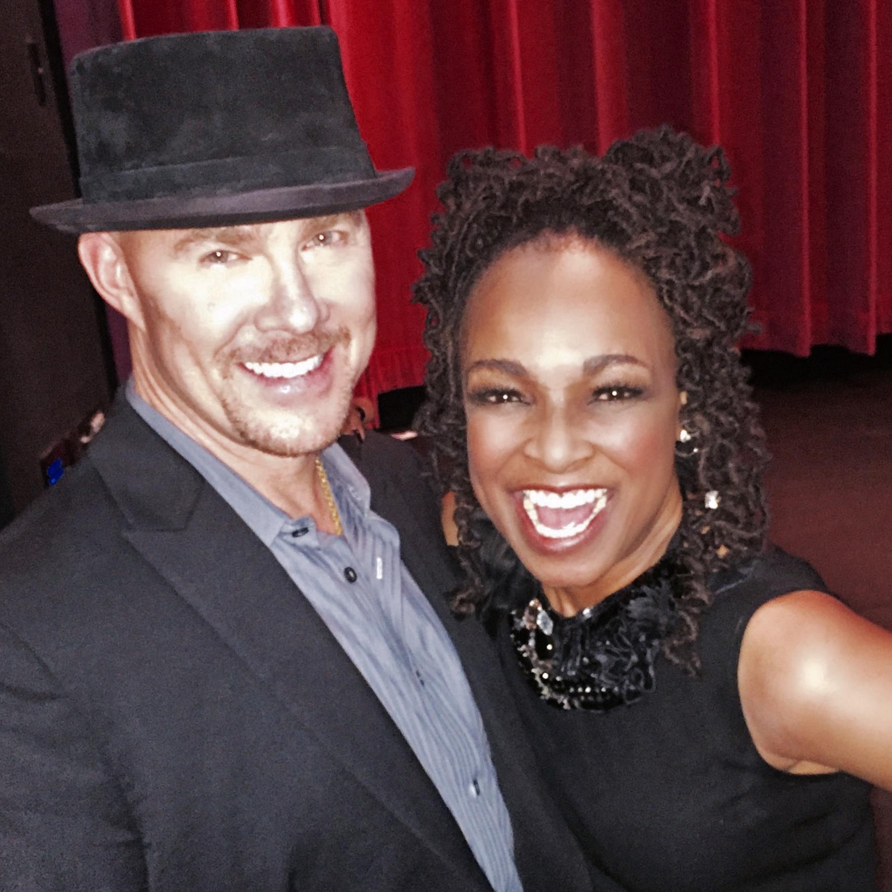 Todd with Siedah Garrett