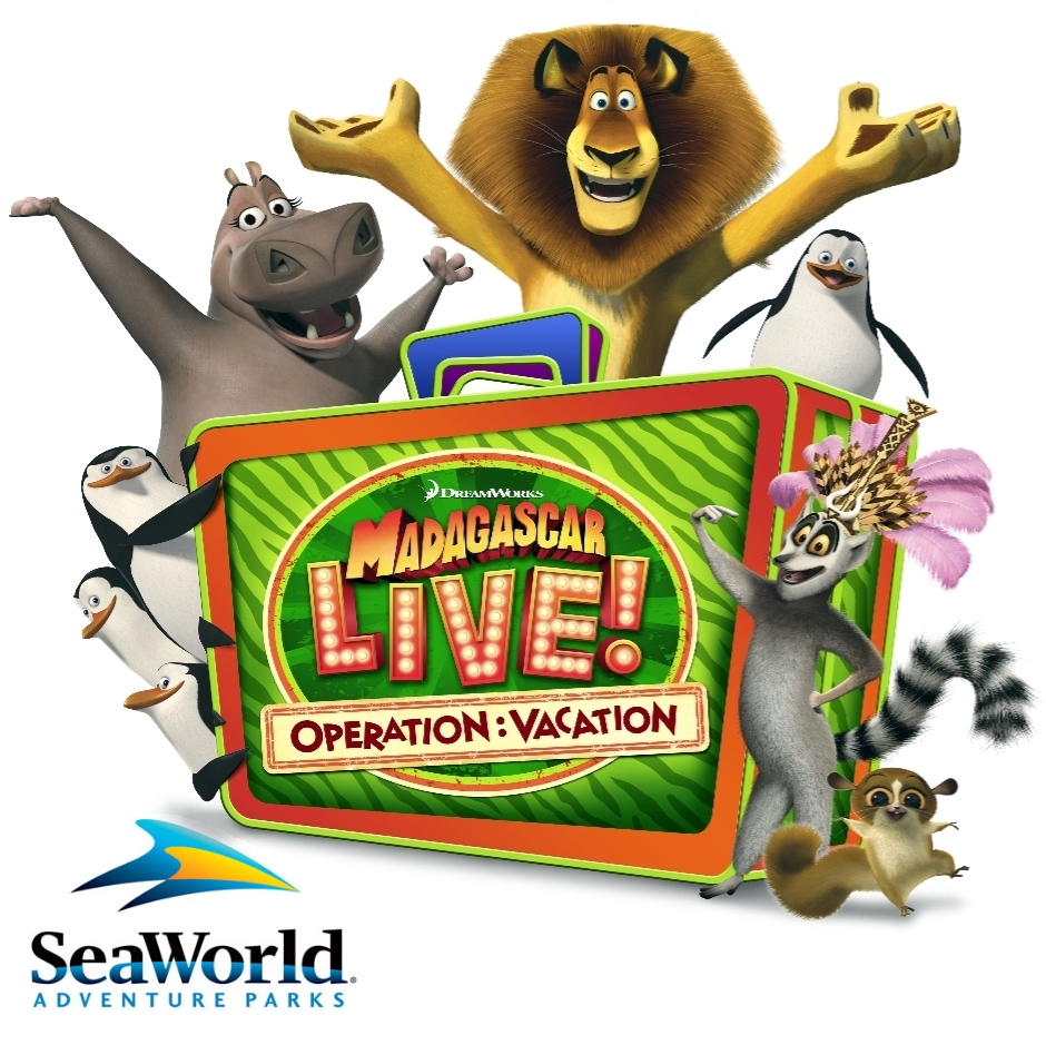 Madagascar Live! - Sea World