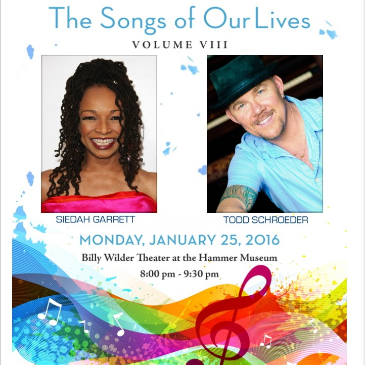 The Songs Of Our Lives [benefit concert]