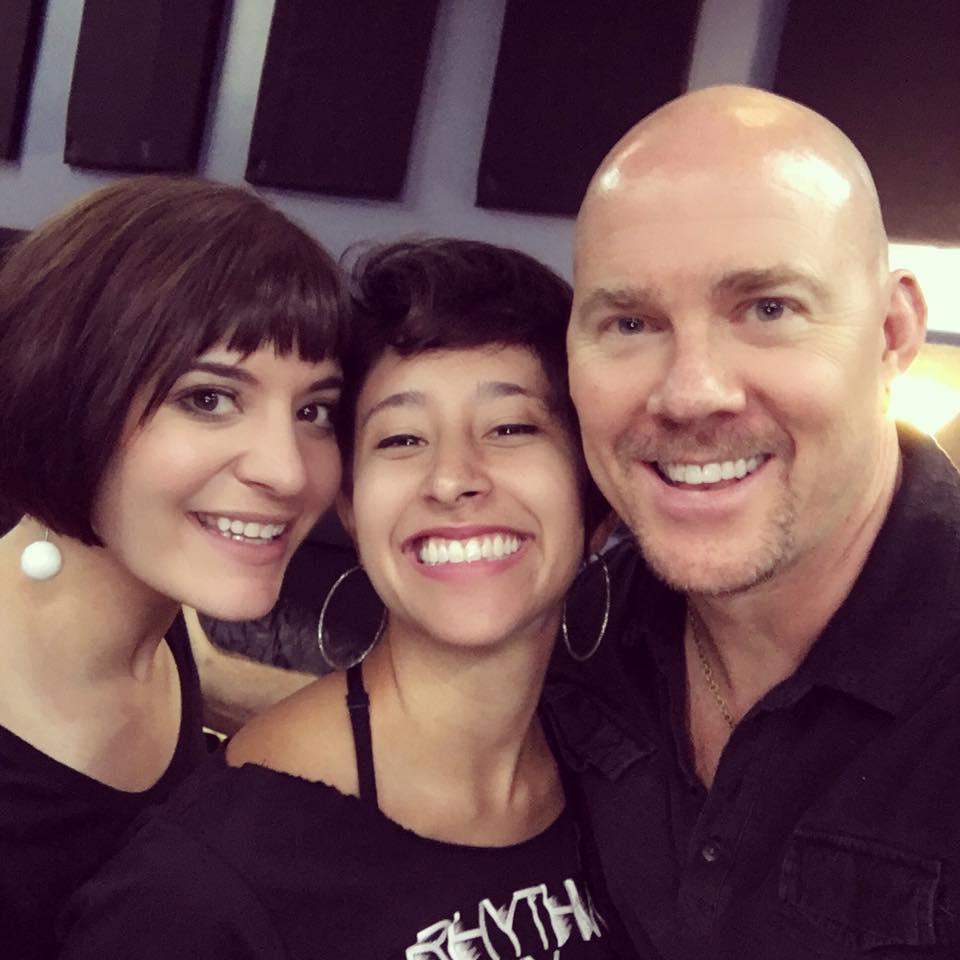 Todd with Aubrey Logan and Sarah Reich
