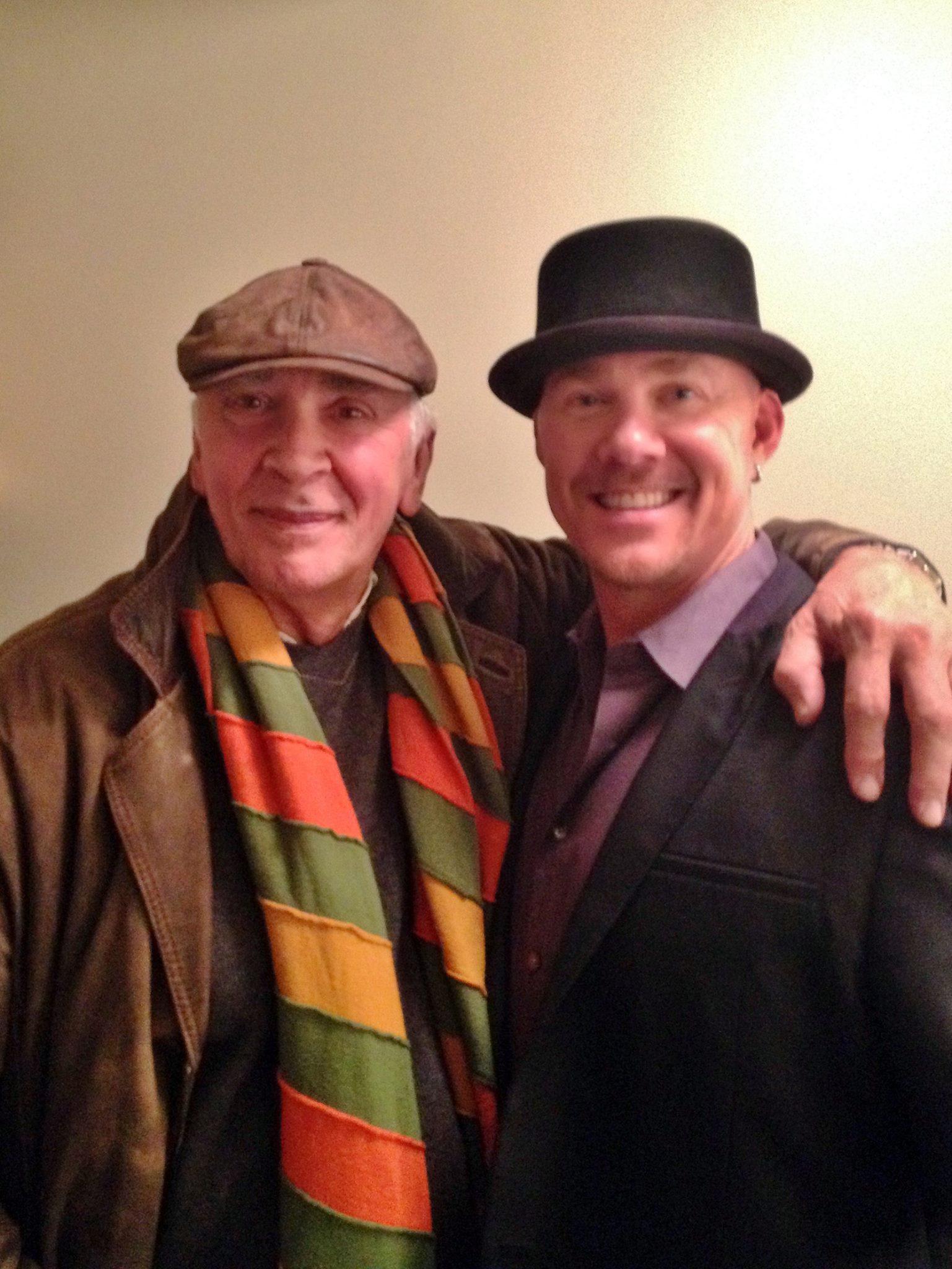 Todd & Frank Langella