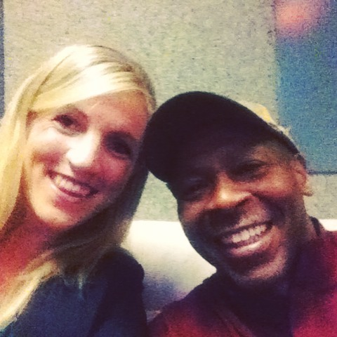 Spent my morning hanging out with Kevin Eubanks of The Tonight Show Band! #adventuresofanauthorzookeeper