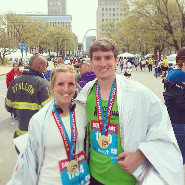 GO St. Louis Marathon 2015! See ya next year, Boston! #gostlmarathon