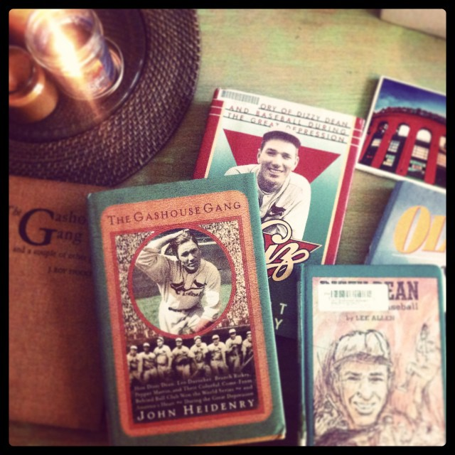 Cardinals all day and Cardinals all night. Working hard on my next book/serial story about a Cardinals team that featured great names like Dizzy Dean, Pepper Martin and Frankie Frisch and preparing to cheer on the Redbirds this evening! Go Cardinals, Go Cardinals, Go! #khakishorts #stlcards #gashousegang