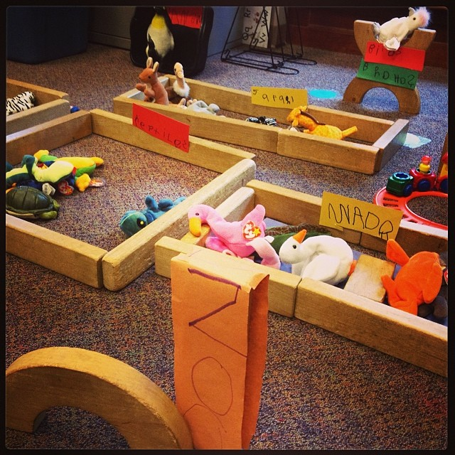 The adorable zoo Central Institute for the Deaf students made at my visit yesterday! #khakishorts