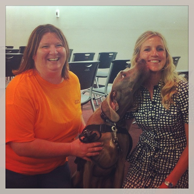 """With the stars of """"Lily"""" at the Joplin Library!"""