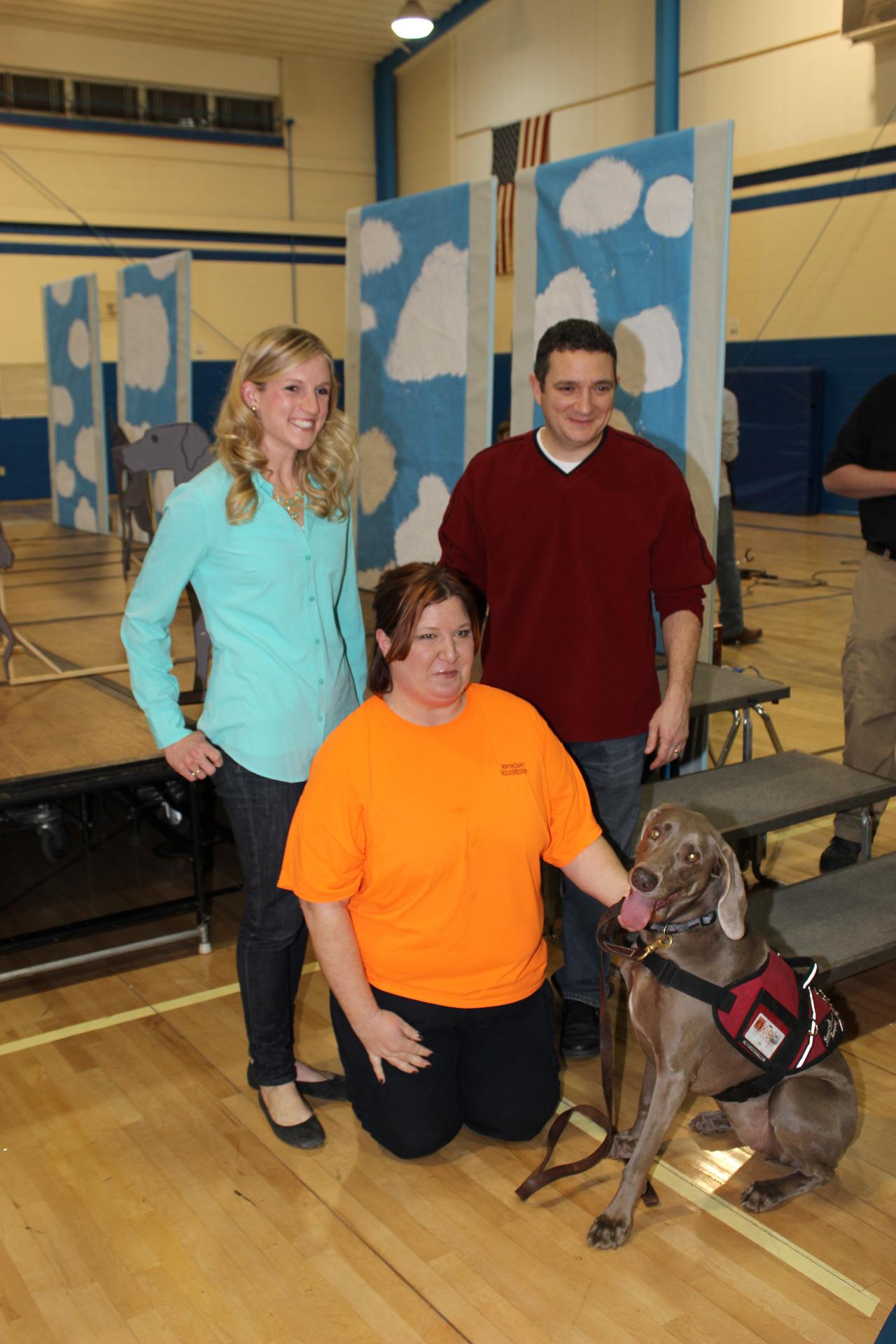 Lily, Tara, Josh from Reedy Press and I.