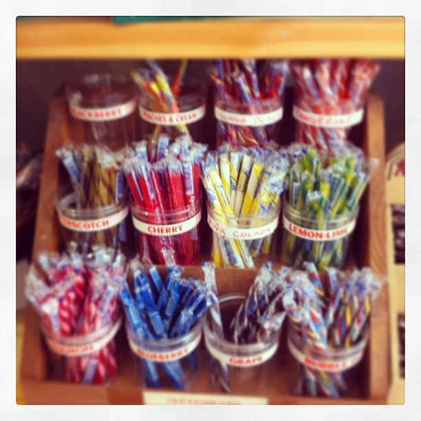 It's not summertime without candy sticks!