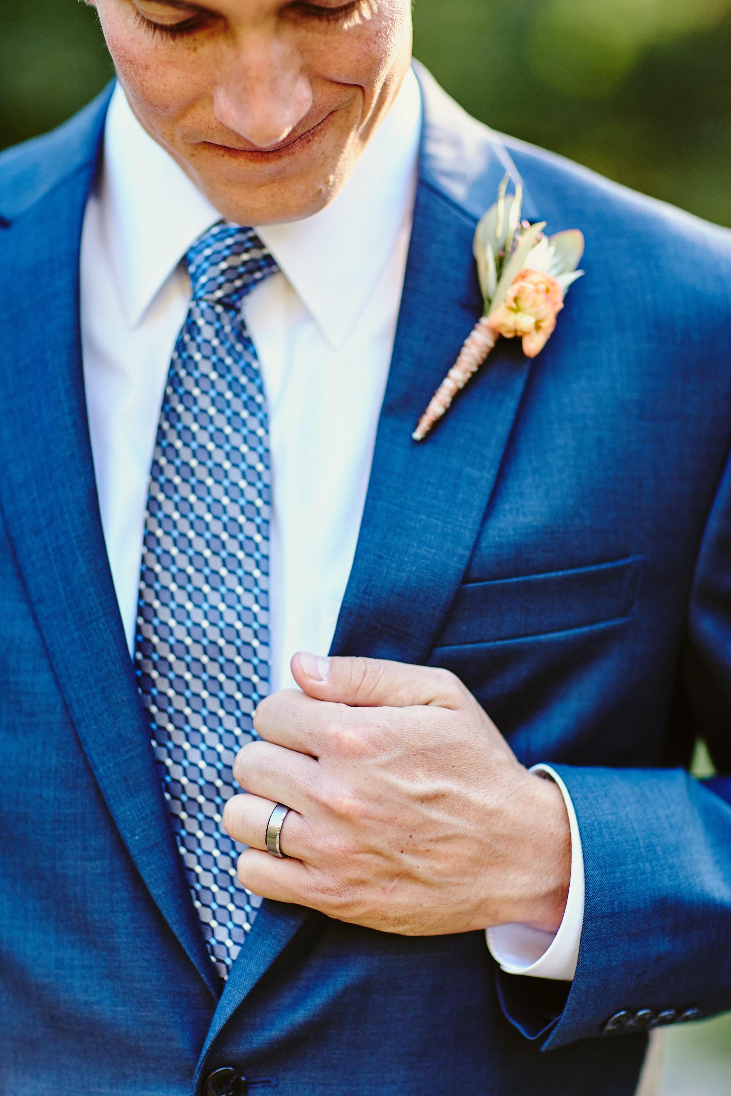 My handsome groom!