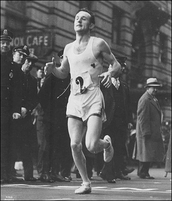 Johnny Kelley in 1935