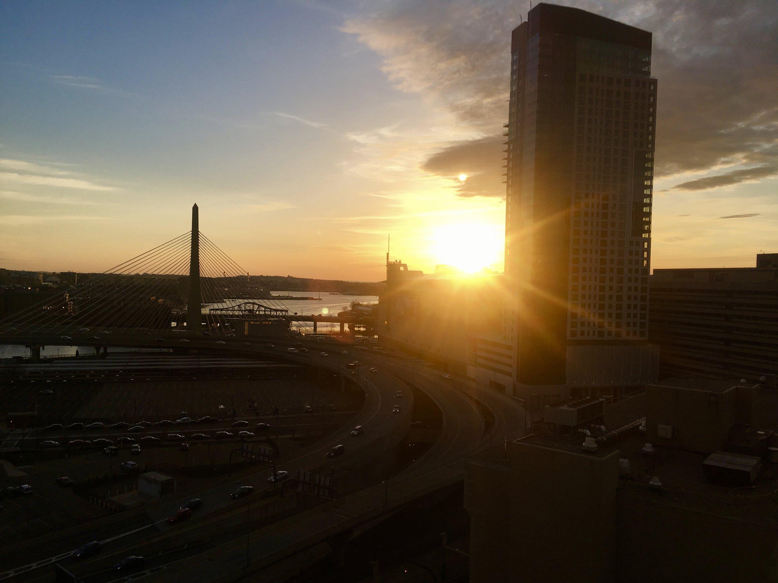 Good morning, Boston. Happy Patriot's Day!