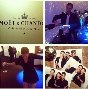 """For Moet-sponsored events I do a fancy type of journalism called """"Immersion Journalism"""""""