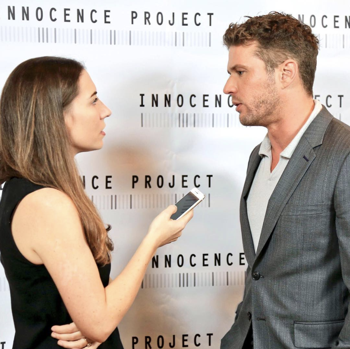 """Find someone who looks at you the way Ryan Phillippe looks at me when asked, """"who are you wearing?"""""""