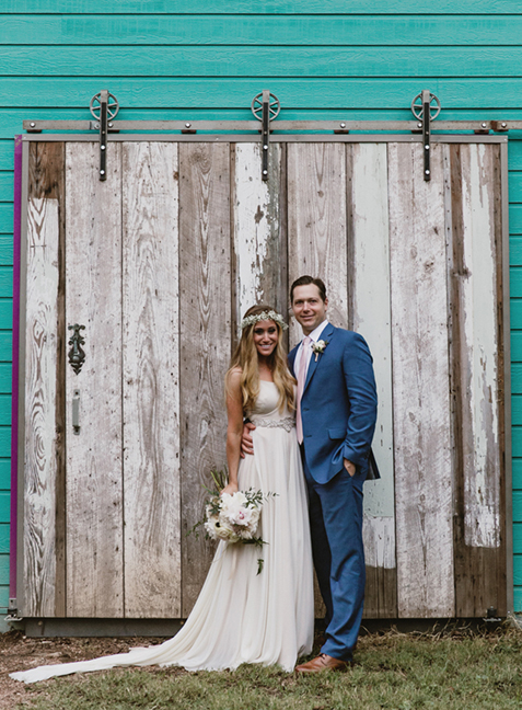 wedding reception 1 of 2 wedding ceremony decks at Articulture Designs in Austin, TX | photo by:  Briana Purser Photography