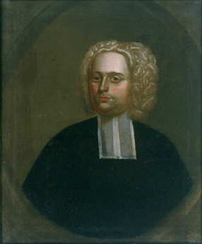 Reverend John Williams. There are no known paintings of Eunice Williams.