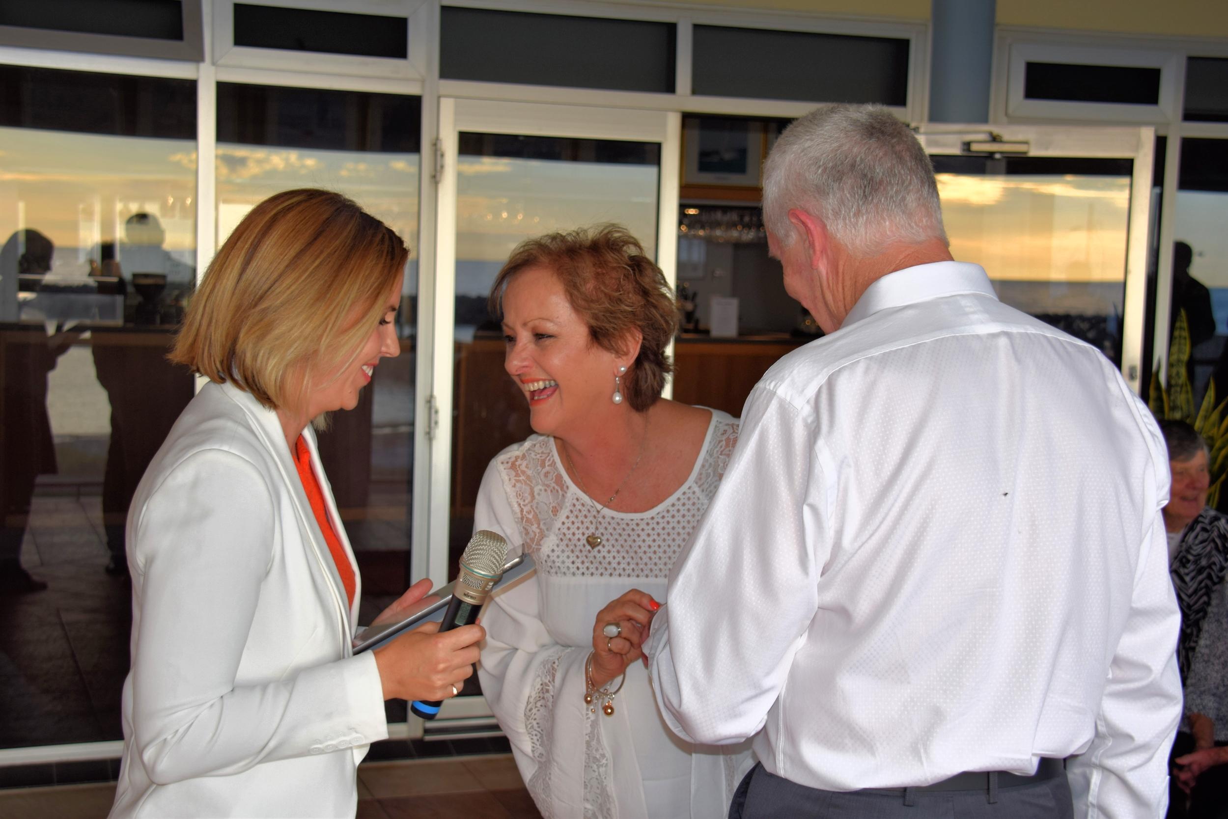 Sue + Mark 01.04.16 @ Adelaide Sailing Club