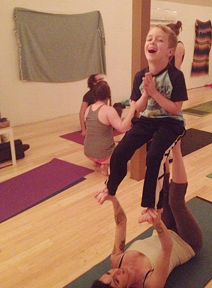 Young or old, Acro is for everyone!