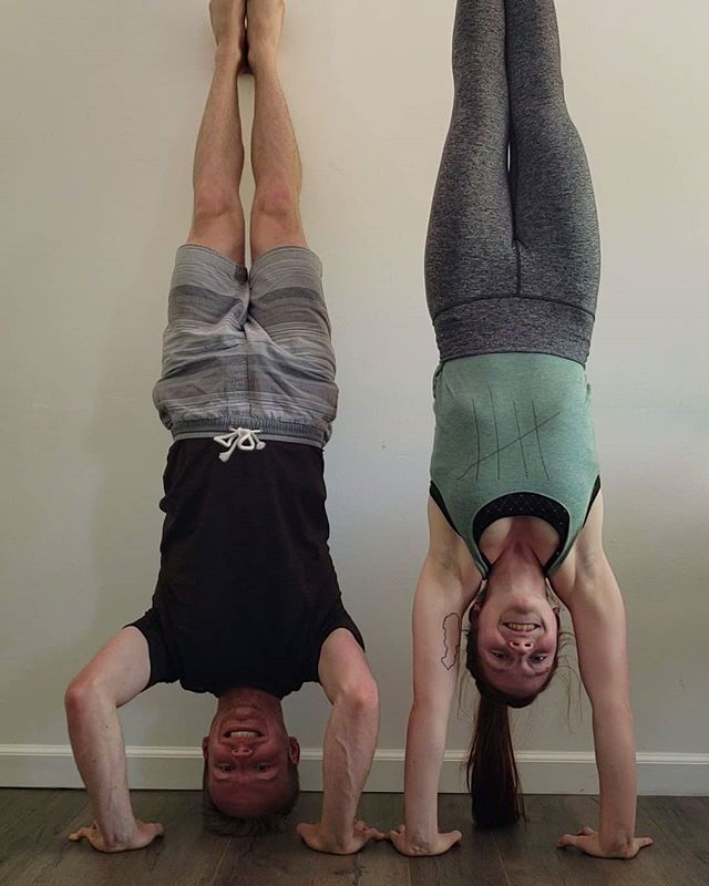 Don't forget! Every Thursday night, right before Acro, we have handstand class from 6:15 - 7:30. • • Build upper body strength, increase your overhead endurance, and balance your circus practice out with inversion training. Whether you've been practicing handstands for years or you're not quite sure where to start, this class is for you! • • Sign up for class from our link in bio!