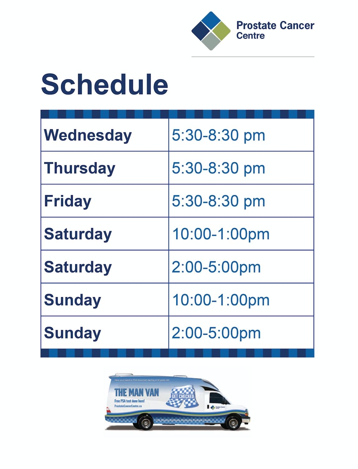 Man Van Schedule 2017 Calgary International Auto and Truck Show