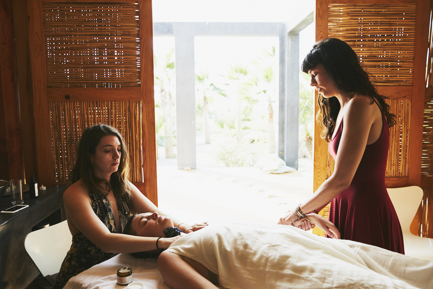 A dreamy scene captured by @Jillian Guyette for FP. The Pachamama spa is GOALS!
