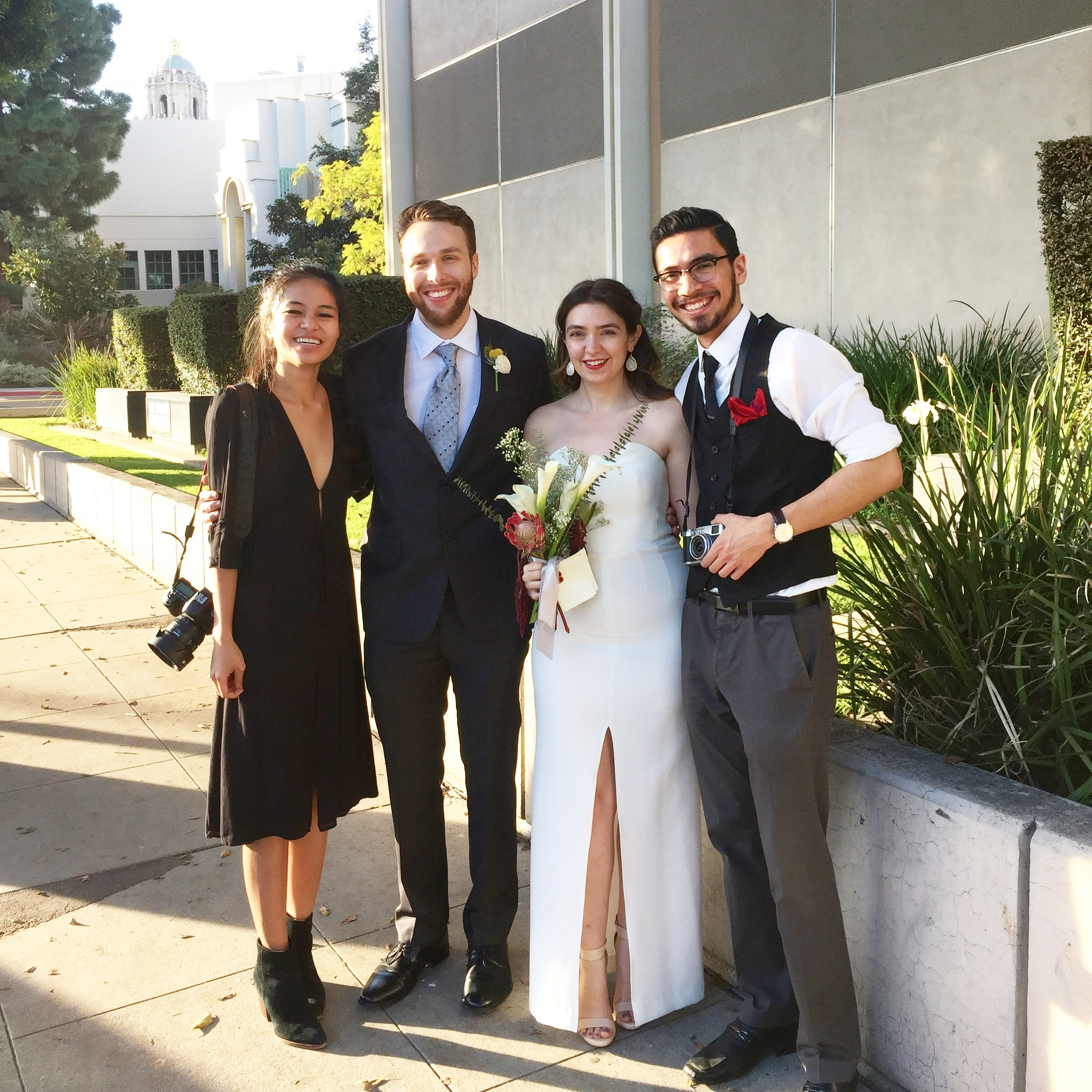 Kristine and Brandon were also apart of our wedding