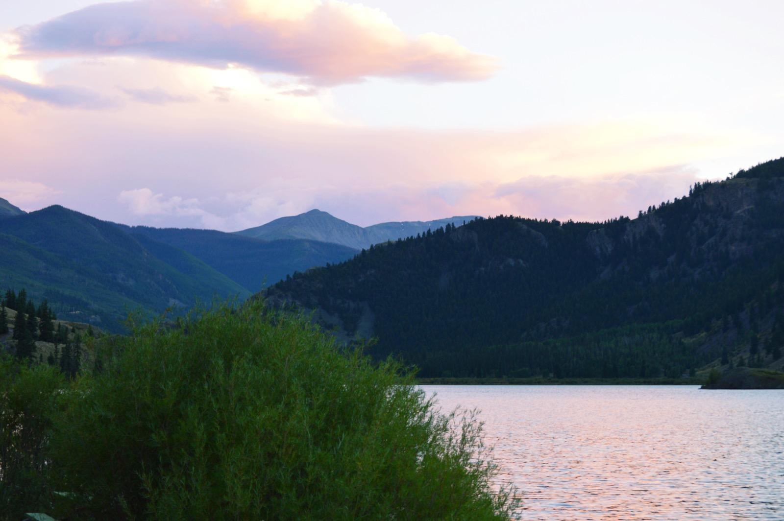 MountainsSunset