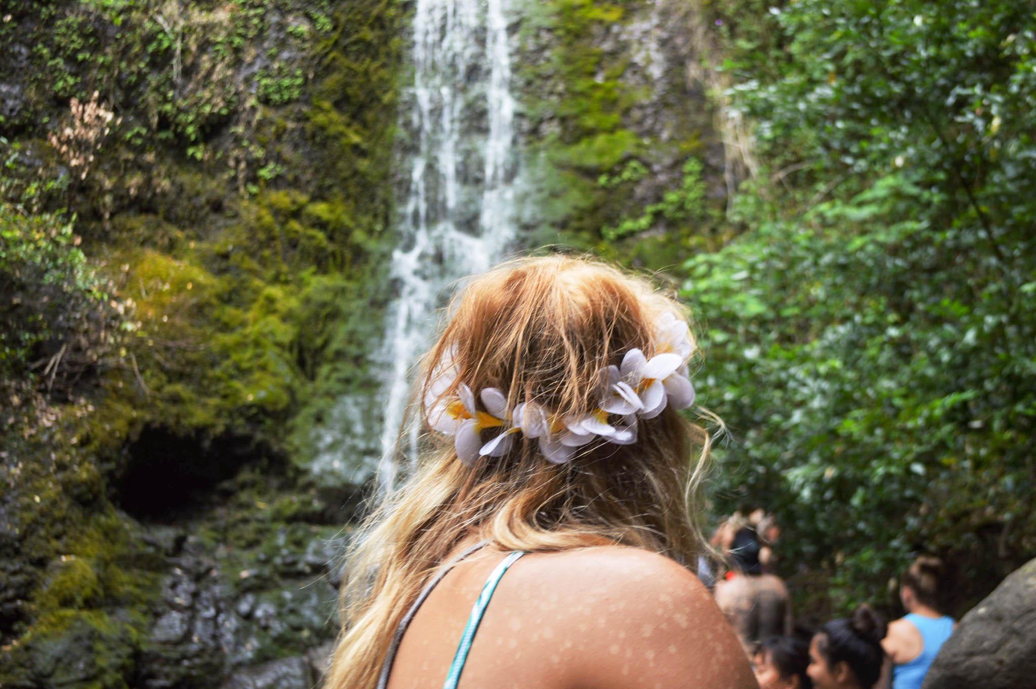 Lulumahu Falls + SaltWaterVibes
