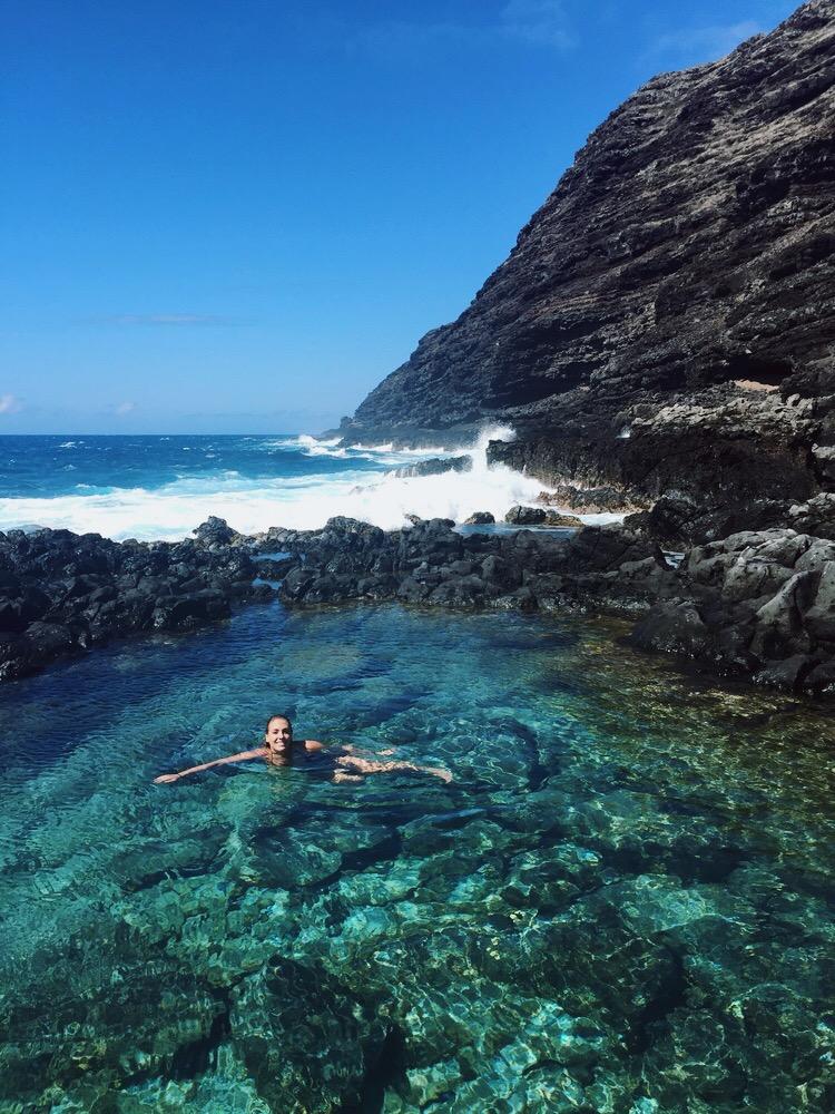 Makapu'u Tidepools + Salt Water Vibes