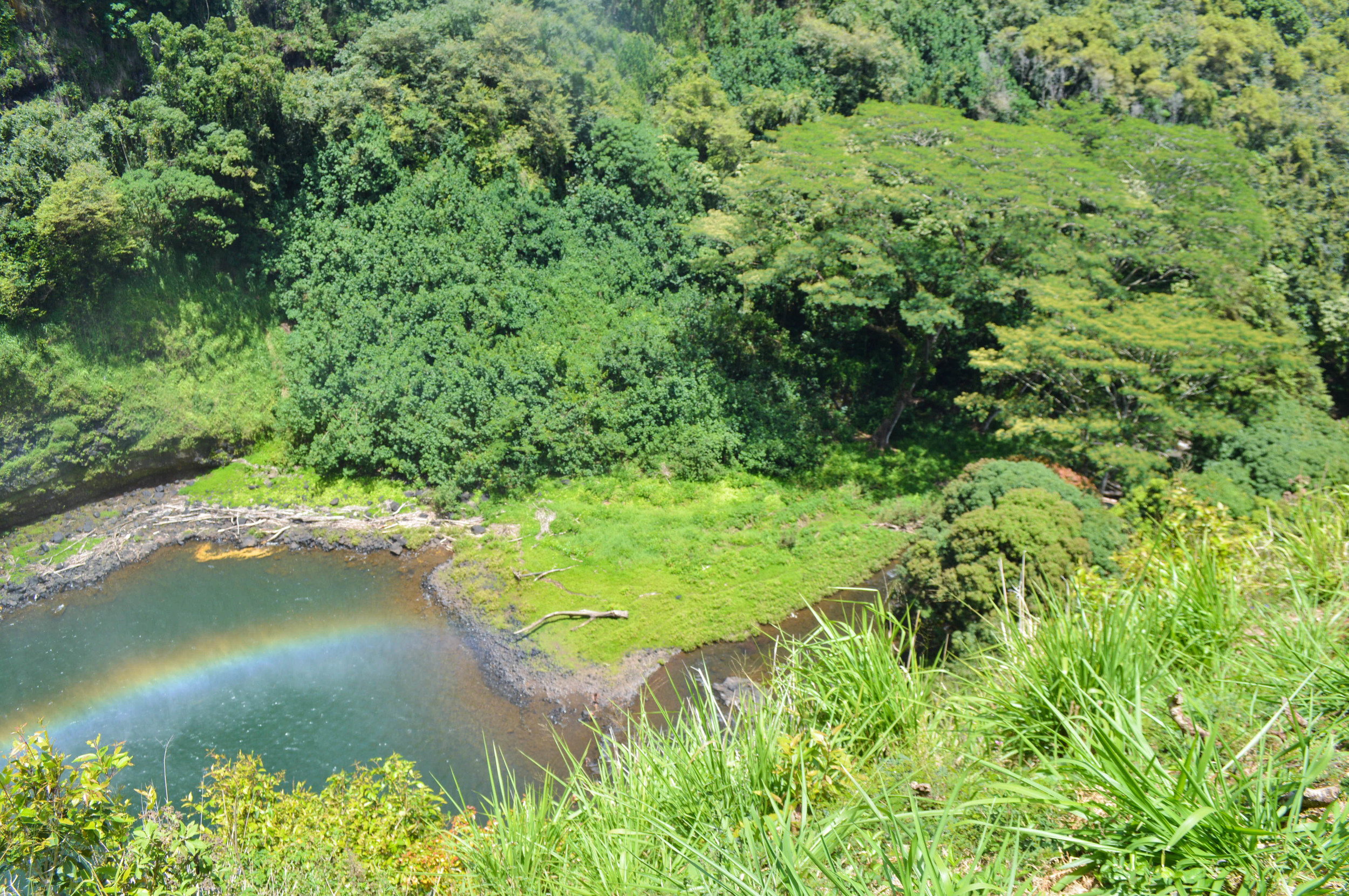 Wailua Falls + Salt Water Vibes