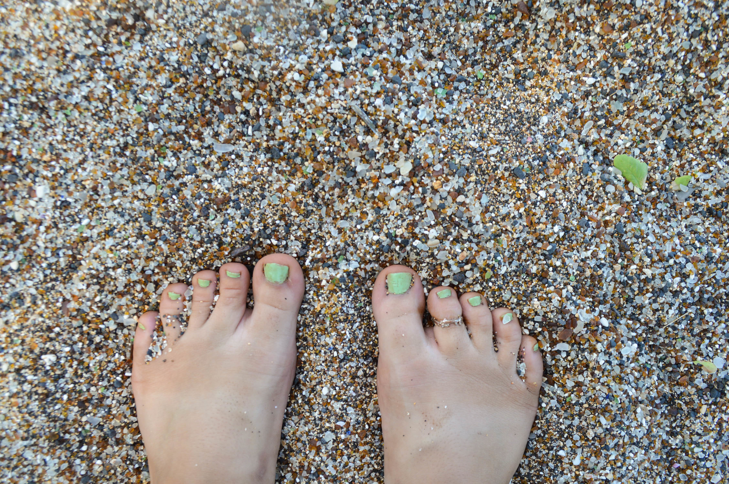 Sea Glass Beach + SaltWaterVibes