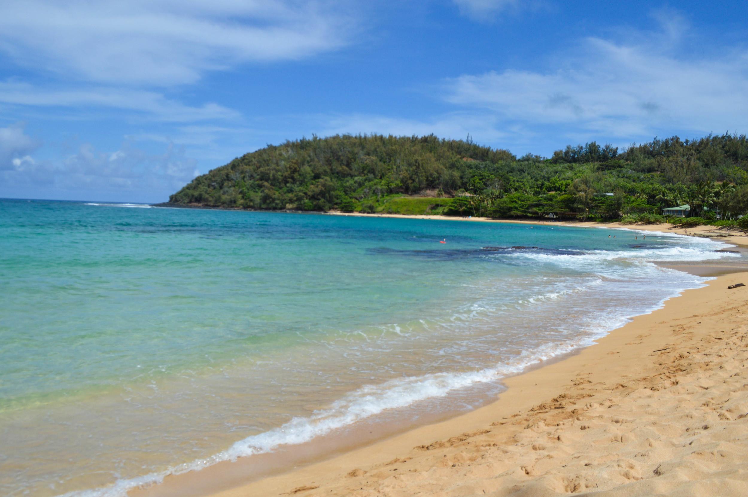 Molo'oa Bay + Salt Water Vibes