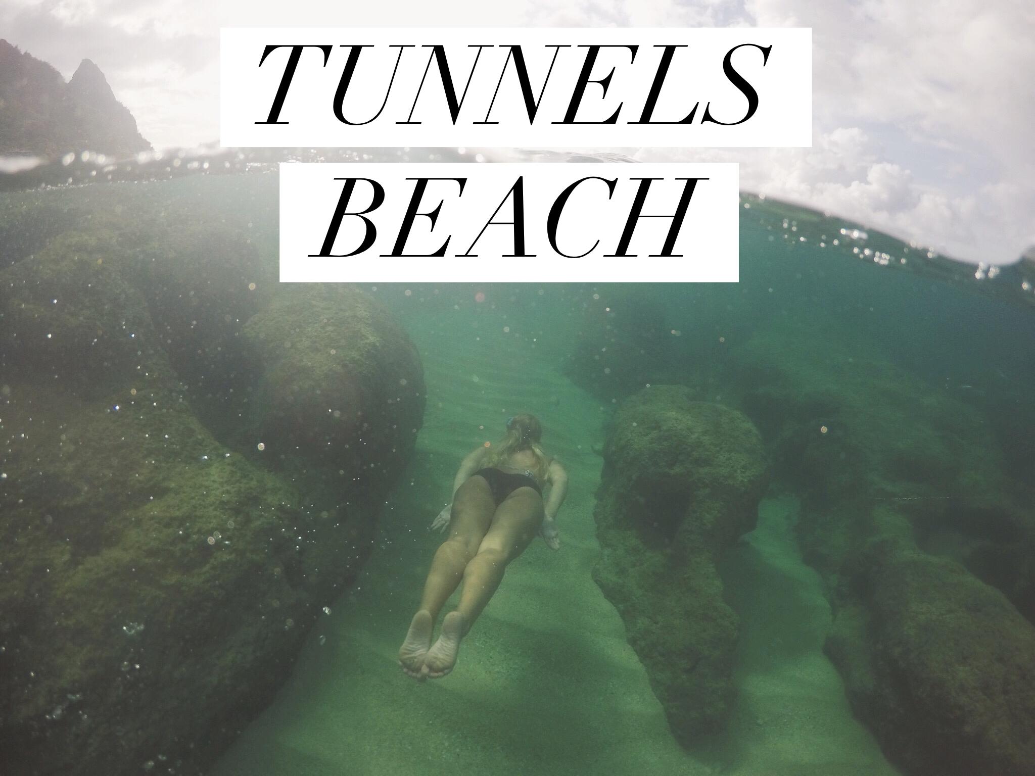 Tunnels Beach +SaltWaterVibes