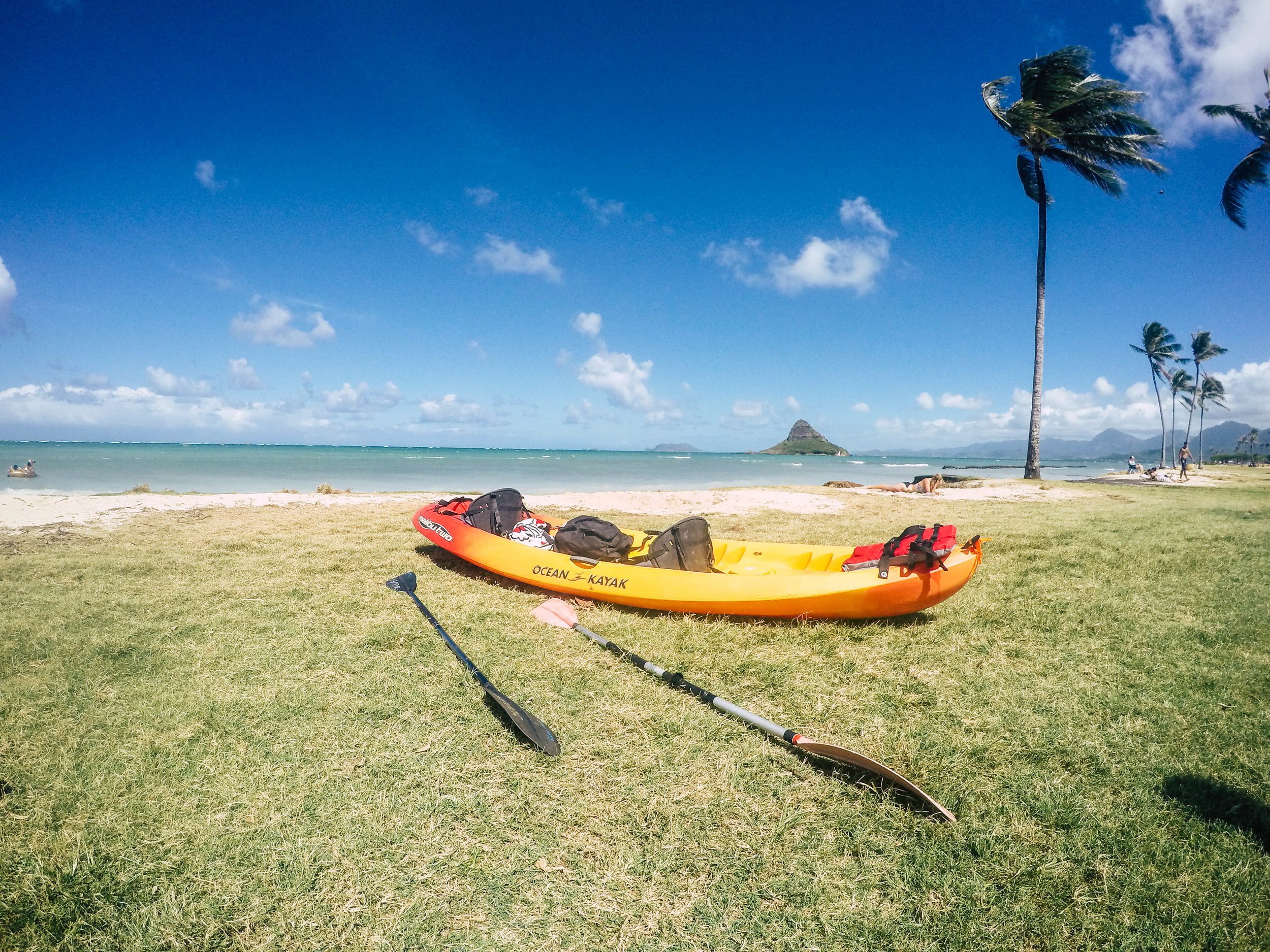 Kayak to China Man's Hat + SaltWaterVibes