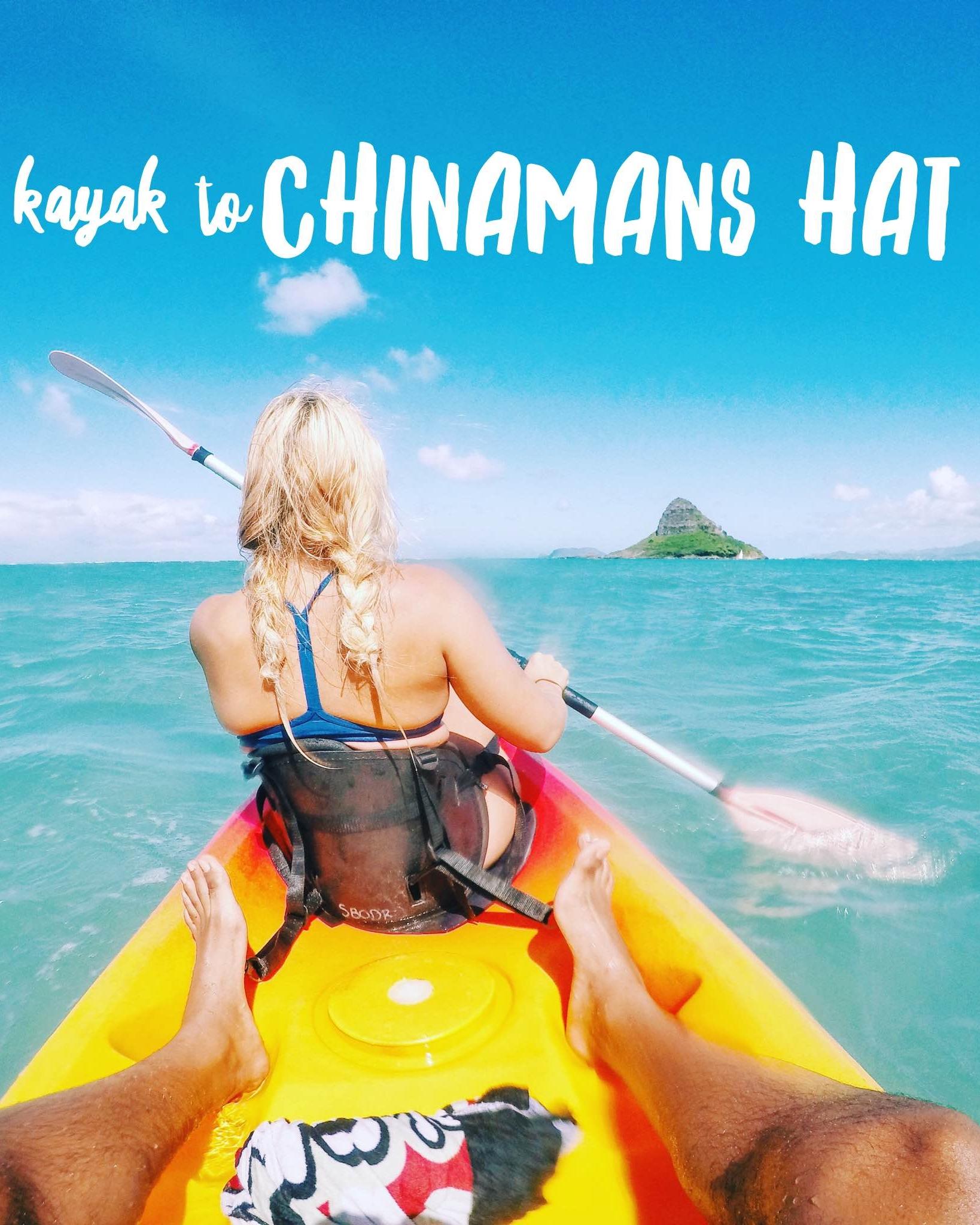 Kayak to Chinamans Hat + SaltWaterVibes
