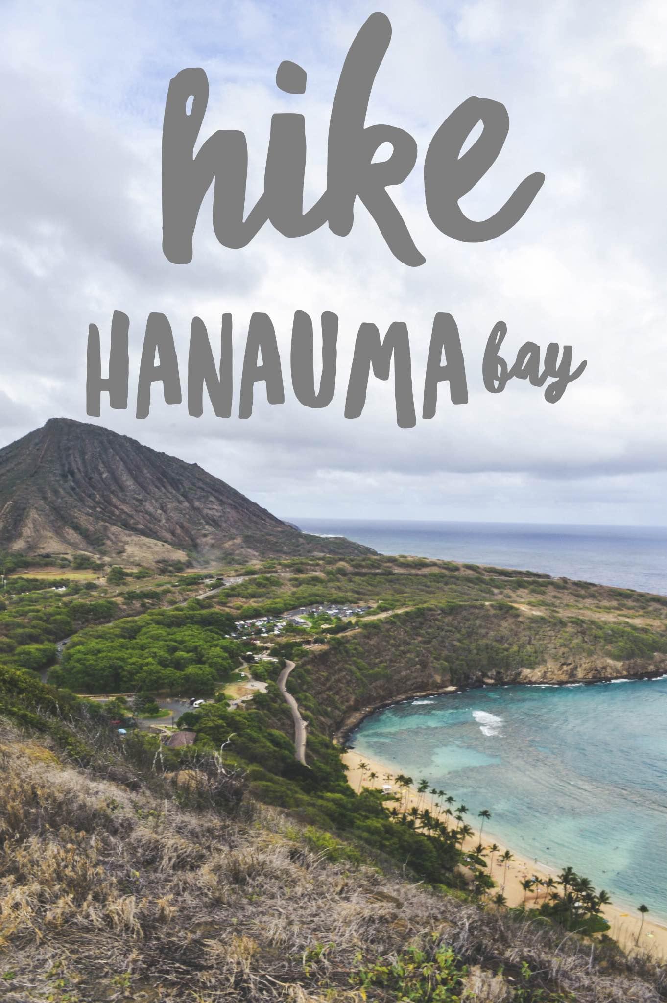 Hike Hanauma Bay + SaltWaterVibes